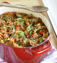Easy French Ratatouille #justeatrealfood #thekitchn
