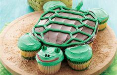 Pull-Apart Turtle Cupcake Recipe | Betty Crocker