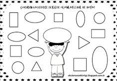 "Training and development of children - ""Fidget"" Shapes Worksheet Kindergarten, Shapes Worksheets, Kindergarten Math, Preschool, Training And Development, Expo, Math Activities, Classroom, Comics"