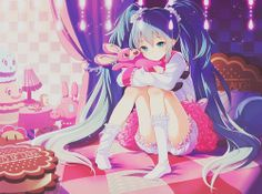 #cutie #anime #bunny #love #girl#miku