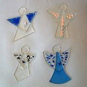 Gallery Thea - Glass Art and More - Fused Glass Angels