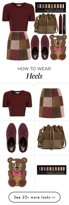 """""""street style"""" by sisaez on Polyvore featuring Glamorous, Topshop, Dune Black, ZAC Zac Posen, NYX, Laura Geller and Forever 21"""