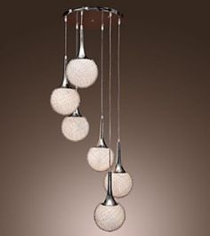 INDOOR LIGHTING GLASS PENDANT LIGHTS FOR HIGH CEILING
