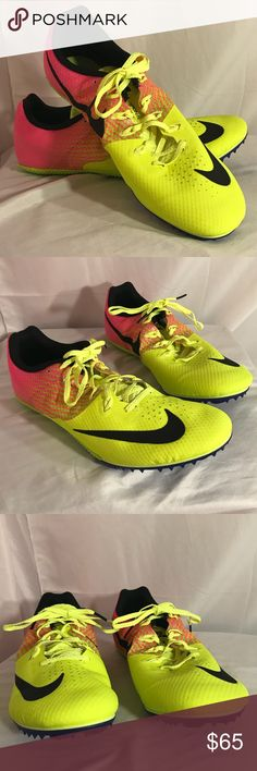 Nike men's racing sneakers size 13   806554-999 Nike racing size 13 cleats . New without box  Style: 806554-999 Comes from a smoke free, pet loving home. Best offers accepted nike Shoes Sneakers
