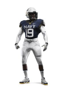 The front of the 2013 #Navy Uniform from #Nike!  GO NAVY