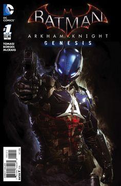 Batman Arkham Knight Genesis #1 Cover C Incentive Video Game Art Variant Cover                                                                                                                                                                                 More