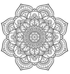 – coloring-pages - Malvorlagen Mandala Free Adult Coloring Pages, Cute Coloring Pages, Mandala Coloring Pages, Coloring Books, Mandala Art Lesson, Mandala Drawing, Wallpaper Rainbow, Image Mandala, Mundo Hippie