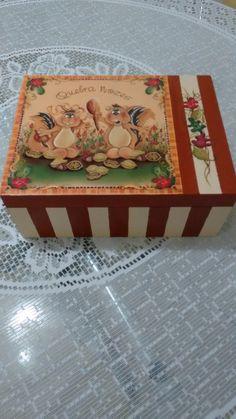 caixa de MDF - decoupagem