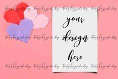 Valentines Mockup Card Mockup Invitation Mockup Invitation