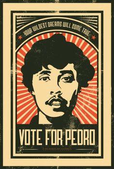 Napoleon Dynamite ~ Vote for Pedro Poster