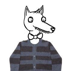 """""""Che occhi grandi che hai..che bocca grande...che bella maglia signor Lupo!"""" ❤️ pic M.Minto disponibile su www.mommut.com #douuodkids #cachemire #wolf #moderntales #boy #instakids #instamom #instamamme #instalike #instagood #instablogger #style #shoppingonline #outletconceptstore #mommut #mommutblogshop"""