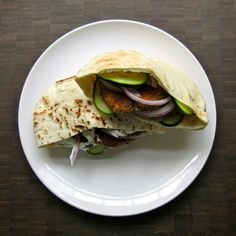 Baked falafel from instructables