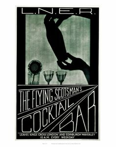 The Flying Scotsman's Cocktail Bar Lámina