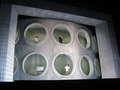 Lucio Silla from Gran Teatre del Liceu. Production by Claus Guth. Sets by Christian Schmidt.