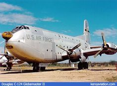 Douglas-C-124-Globemaster-II Richards Gebaur Air Force Base