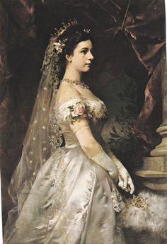 "Empress Elisabeth Amalie Eugenie ""Sissi"" (1837-assassinated 1898) Bavaria, wife of Emperor Franz Joseph I Austria"