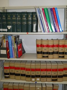 Government documents shelf. We're a federal depository library.