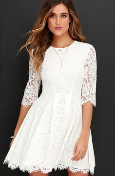 Lulu's Love Letter lace dress: http://www.stylemepretty.com/2016/03/22/lace-dresses-perfect-for-spring/