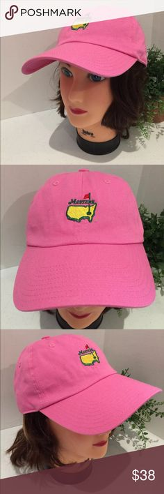 Lady's Augusta Masters Pink Hat Magnolia Lane OS This listing is for a Lady's Augusta Masters Pink Golf Hat. Adjustable strap. Magnolia Lane. Excellent condition. See pictures. Magnolia Lane Accessories Hats