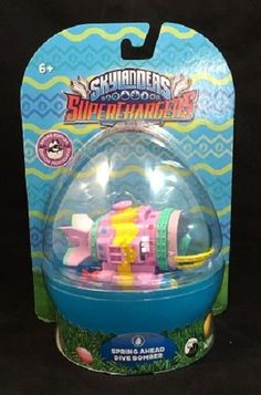 Skylanders SuperChargers Vehicle Spring Ahead Dive Bomber #Activision