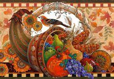 Autumn Bounty ~ David Galchutt