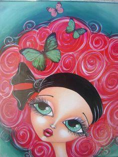 red hair girl by Megan K. Suarez