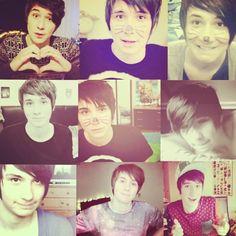 Danisnotonfire. Dan Howell you're perfect.