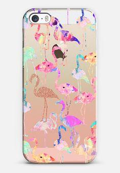 Flamingo Party iPhone 5s case by Nikki Strange | Casetify