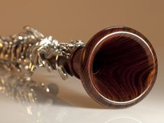 A cocobolo MoBa with gold keys...in my dreams