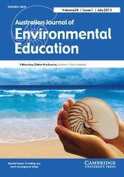 Aust Journal of Environmental Education «  Australian Association for Environmental Education