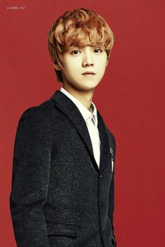 EXO in IVY Club for Back To School photoshoot. (Luhan)