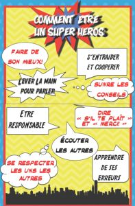 La cloche a sonné Superhero Classroom Theme, Classroom Themes, Super Hero Activities, Classroom Management Tips, French Education, Staff Training, French Resources, French Lessons, School Themes