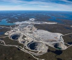Ekati Diamond Mine, Canada