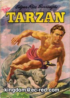 TARZAN DE LOS MONOS -TARZAN EN MEXICO EDITORIAL NOVARO(KINGDOM COMICS 2011)