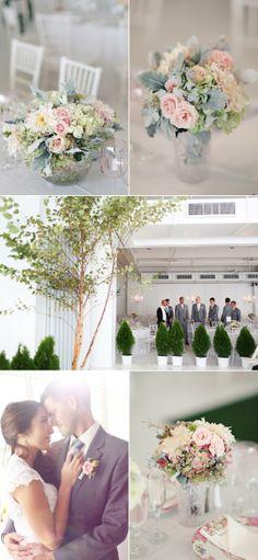 NYC Indoor Garden Wedding from Angelica Glass   The Wedding Story
