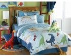 Linen House Hiccups Dinosaur Land Single Duvet Set