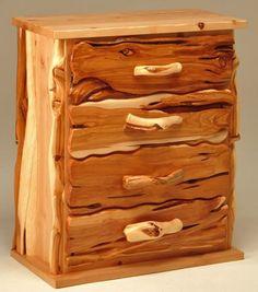 Rustic Bedroom Furniture, Log Bed, Mission Beds, Burl Wood Furnishings, Log Cabin Bedroom Furniture #rusticfurniturelog