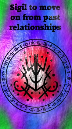 Sigil to move on from past relationships Wiccan Symbols, Magic Symbols, Symbols And Meanings, Sacred Symbols, Viking Symbols, Wiccan Spell Book, Wiccan Spells, Witchcraft, Reiki