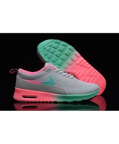 new concept 5c12d f2525 Chaussure Nike Air Max Thea Gris Rose Vert