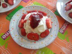 SAM_3879 Poke Bowl, Buddha, Pancakes, Pudding, Breakfast, Desserts, Food, Morning Breakfast, Recipe