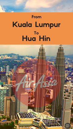 Starting from 18th May 2018, Air Asia will begin to fly the KUL-HHQ-KUL route four times a week. More tourists to Hua Hin!
