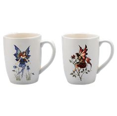 Amy Brown Coffee Mug Set - CG8437 by Medieval Collectibles