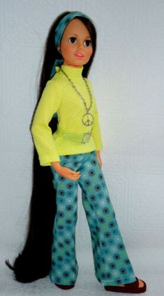 "/_/_ MOD SET/_/_4pc for vintage 17 1//2/"" Ideal Crissy,Tressy,Brandi  doll 14"