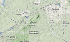 Crowders Mountain State Park — Pinnacle Trail Loop  Kings Mountain, NC