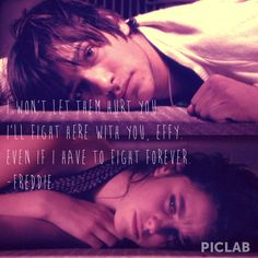 I love Freddie and Effy they are my favorite Skins couple