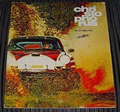 MARCH 1974 CHRISTOPHORUS Magazine PORSCHE German ISSUE Number 127 ORIGINAL Rare
