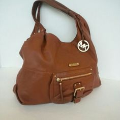I just added this to my closet on Poshmark: Authentic Michael Kors Leather Bag. Price: $80 Size: OS