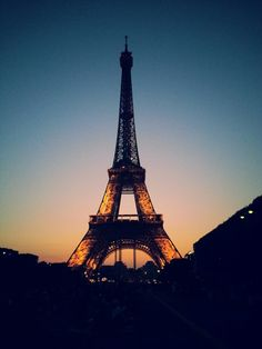 Tour Eiffel in Paris, Île-de-France Who don't want to visit this place. Romantic night, yummy food, and of course capital city of fashion. Vacation Places, Vacation Spots, Rivers And Roads, Belle Villa, European Vacation, France Travel, Travel Around The World, Places To See, Paris 2015