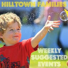 Memorial Day Weekend is upon us! What are your plans? Check our list of Weekly Suggested Events at www.HilltownFamilies.org for great ways to spend your weekend with family, friends & neighbors here in Western MA!