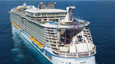 The world's largest cruise ship Harmony of the seas 16